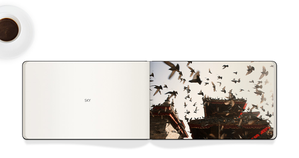 Moleskine Photo Book with photography.