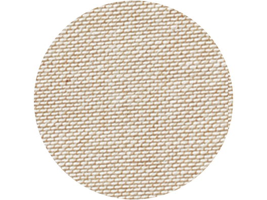 Premium Natural linen swatch - Nut