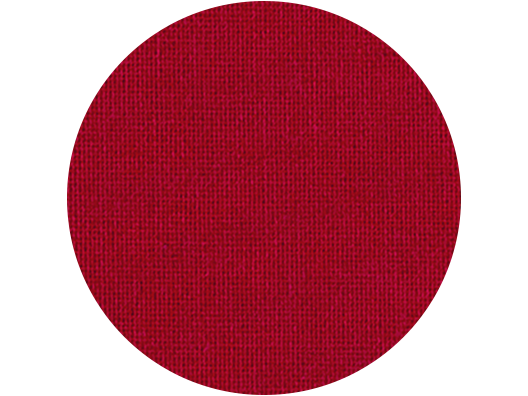 Premium Colored Linen swatch - Red Rose