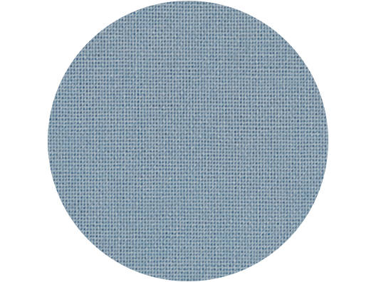 Premium Colored Linen swatch - Steel Blue