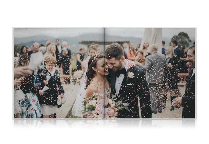 Look Inside Recent Customer Wedding Books